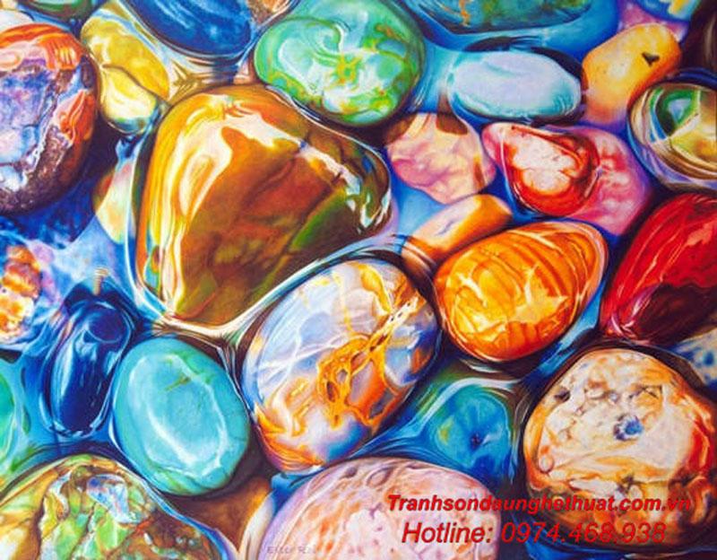 Tranh sơn dầu nổi tiếng