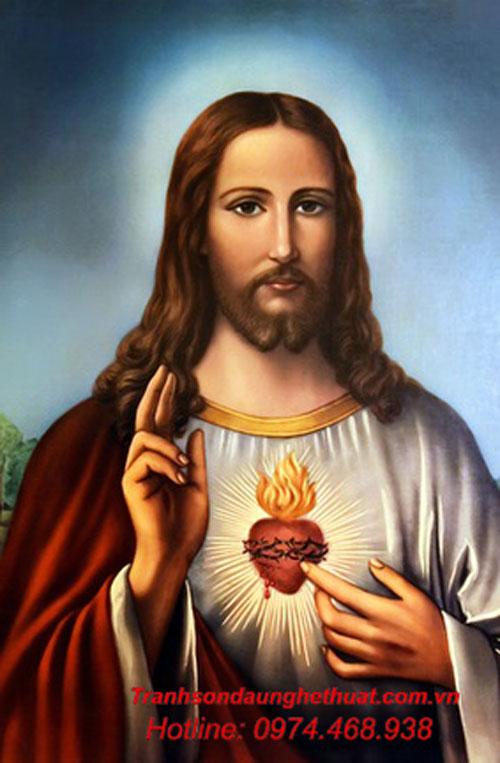 Tranh sơn dầu công giáo
