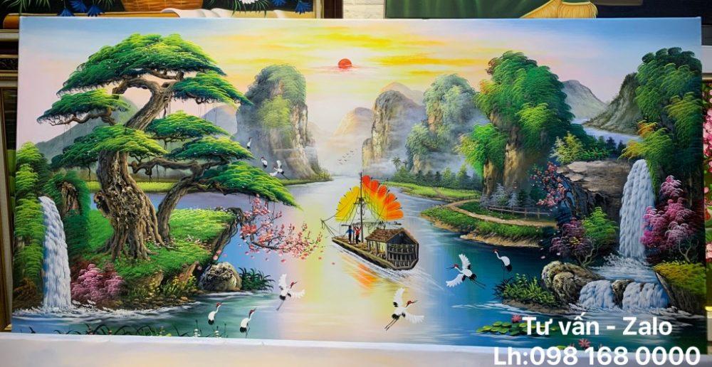 Tranh Sơn Dầu Phong Cảnh (Mẫu 57)
