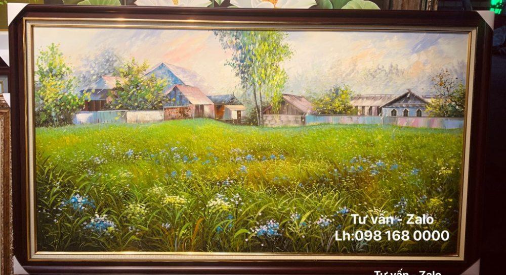 Tranh Sơn Dầu Phong Cảnh (Mẫu 60)