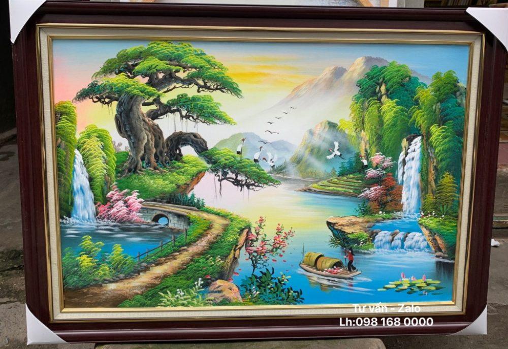 Tranh Sơn Dầu Phong Cảnh (Mẫu 64)