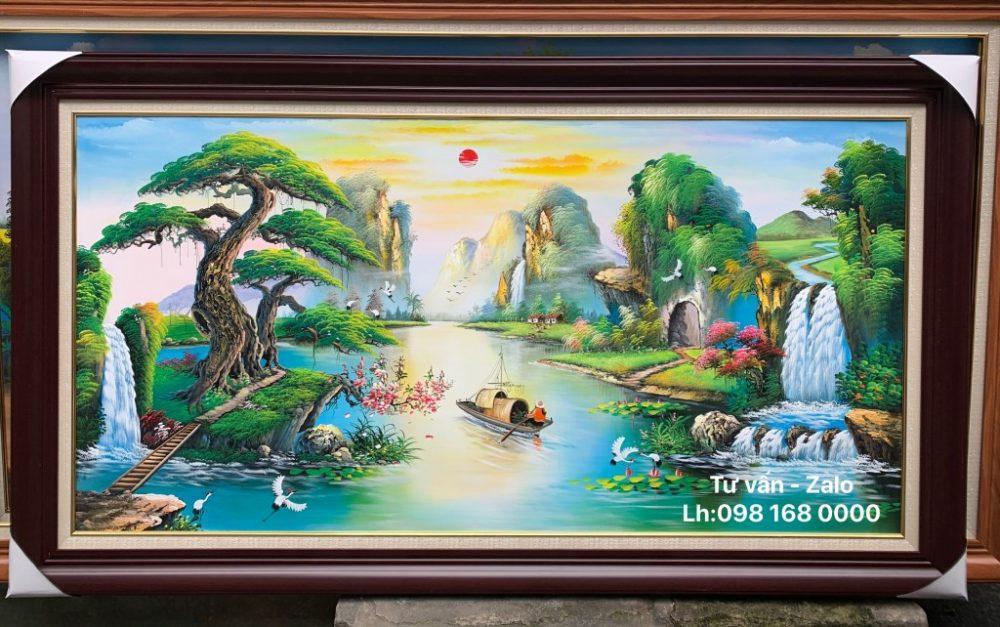 Tranh Sơn Dầu Phong Cảnh (Mẫu 66)